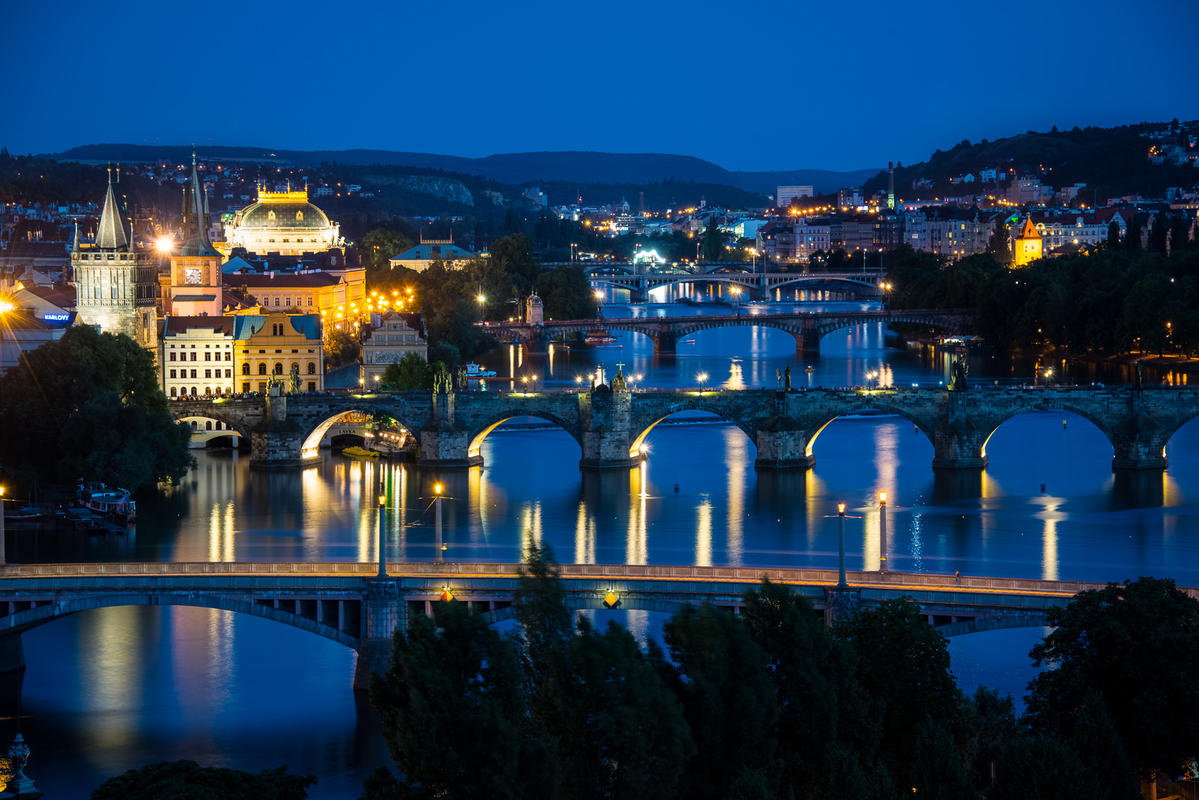 Vltava River View Photo by Howard Ignatius via Flickr Creative Commons