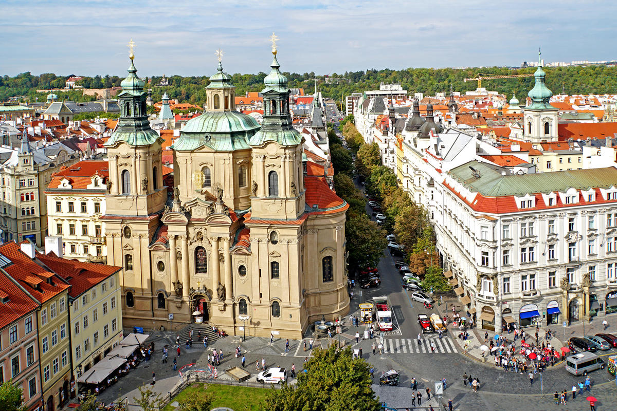 Czech-04063 - St. Nicholas Church Photo by Dennis Jarvis via Flickr Creative Commons