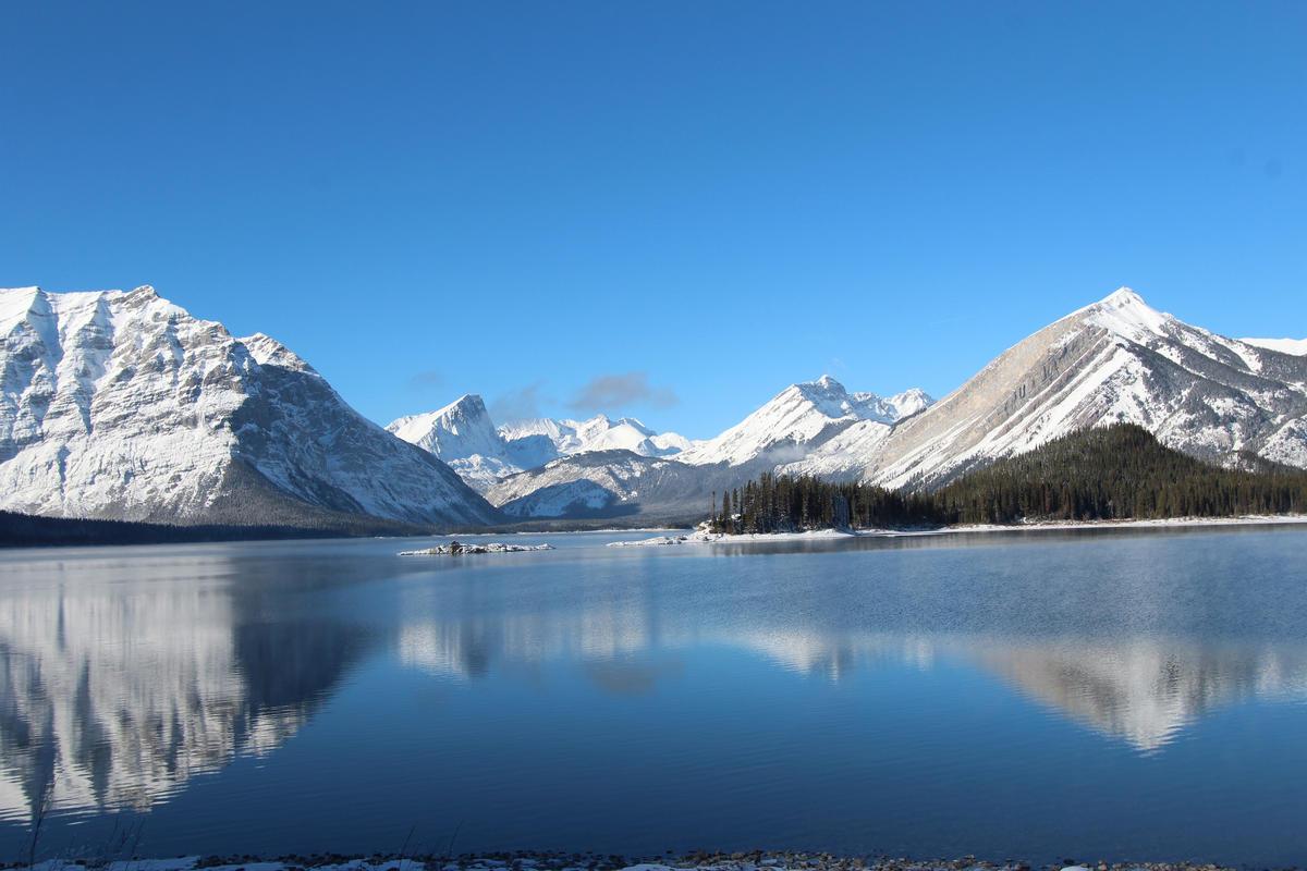 Upper Kananaskis lake Alberta Canada November 2014 Photo by Thank you for visiting my page via Flickr Creative Commons