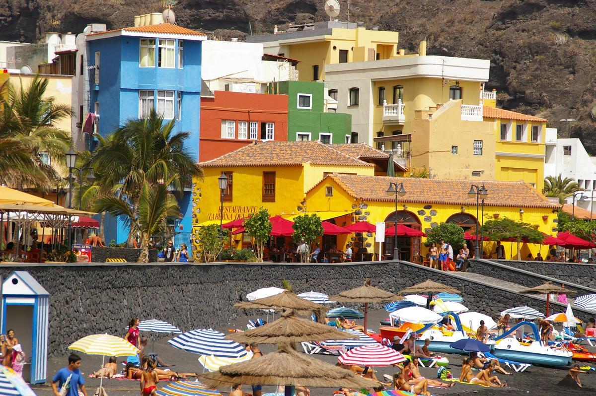 Strand von Puerto de Tazacorte, La Palma Photo by Frerk Meyer via Flickr Creative Commons