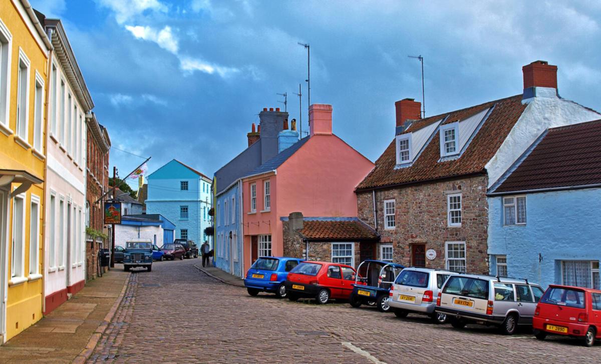 Then & Now - Le Huret Alderney Photo by Neil Howard