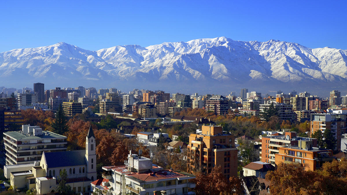 Santiago de Chile after rain Photo by alobos Life via Flickr Creative Commons