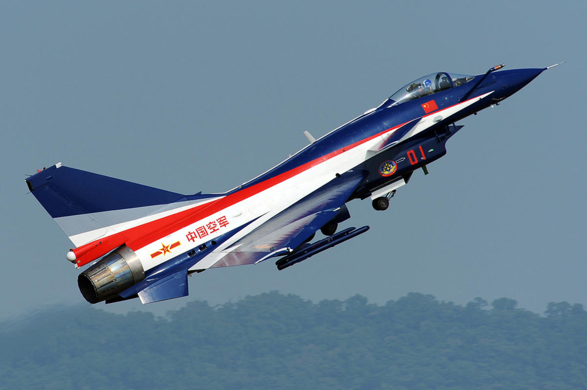 China airforce J10 Photo by Peng Chen via Flickr Creative Commons