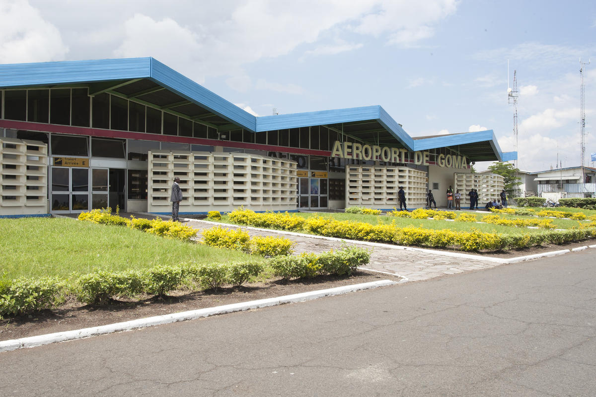 Exterior of Goma Airport Photo by World Bank Photo Collection via Flickr Creative Commons