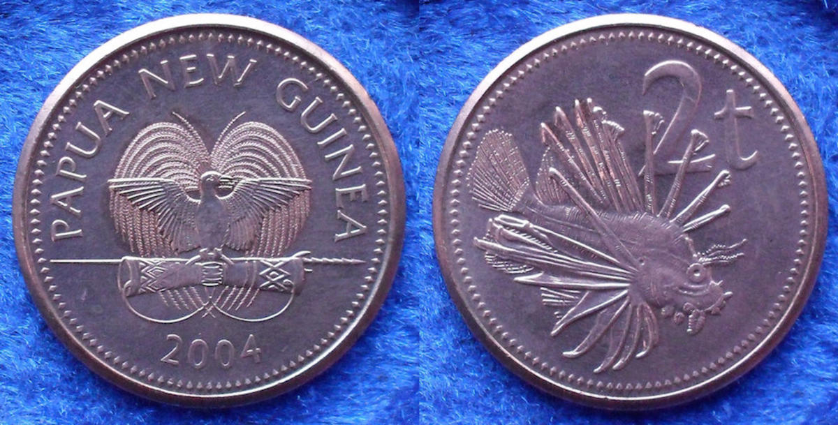Papua New Guinea 2 toea 2004 by Numismatic Coins & History via Flickr Creative Commons
