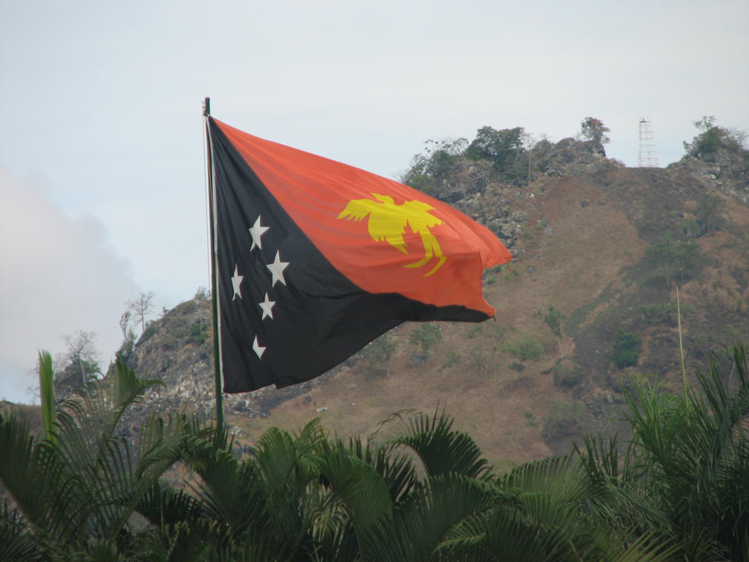 Papua New Guinea Flag by Drew Douglas via Flickr Creative Commons