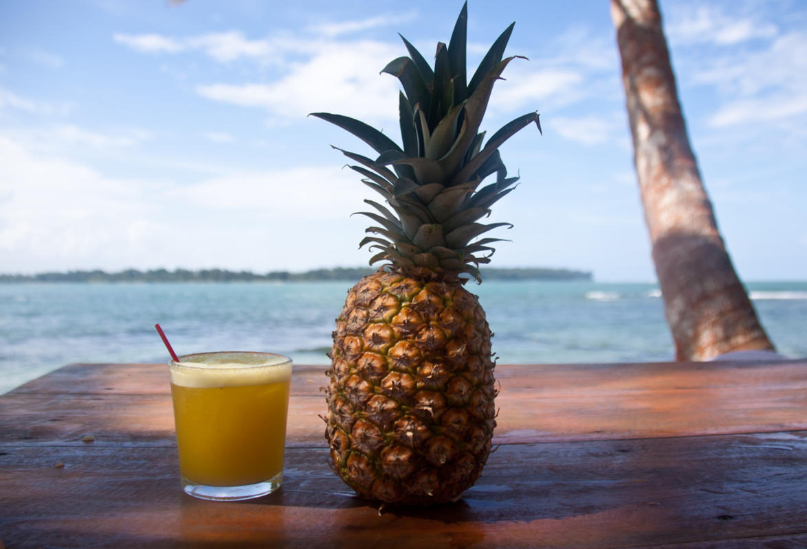 Pina Colada & Pineapple - Boca del Drago, Isla Colon - Bocas del Toro, Panama by Chris Goldberg via Flickr Creative Commons