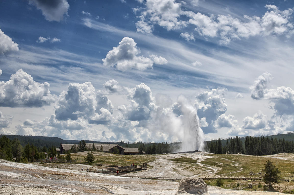 Old Faithful - Yellowstone National Park Photo by screaming_monkey via Flickr Creative Commons