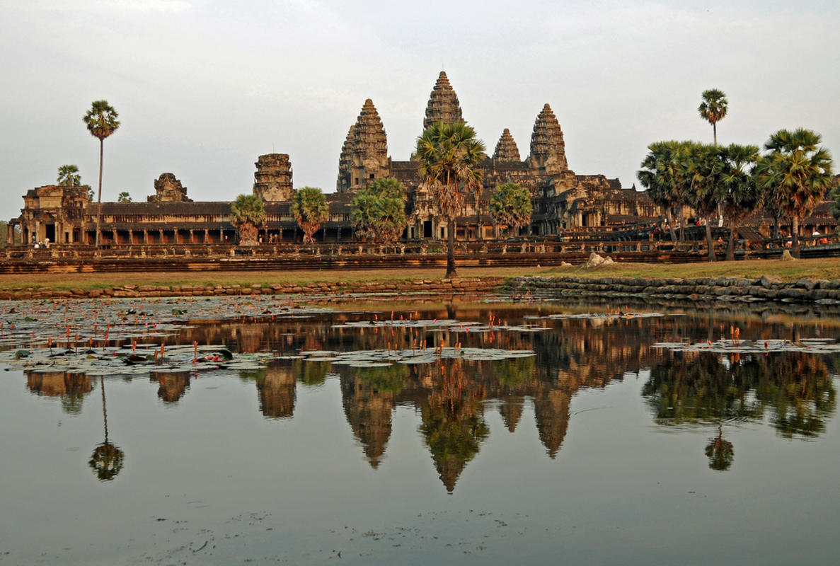 Cambodia-2638 - Mighty Angkor Wat Photo by Dennis Jarvis via Flickr Creative Commons