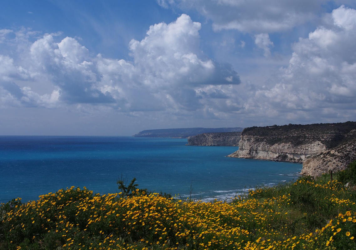 Kourion sea view Photo by Oleg via Flickr Creative Commons