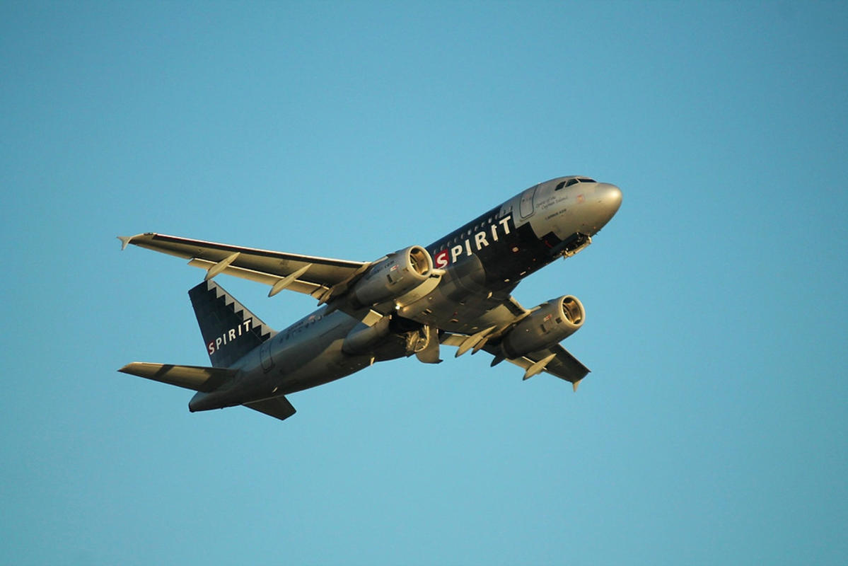 Spirit N514NK: Airbus A319 Photo by formulanone via Flickr Creative Commons