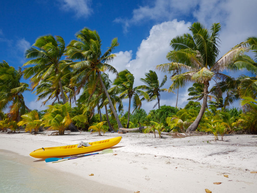 Our hired kayak Photo by Daniel Pietzsch via Flickr Creative Commons