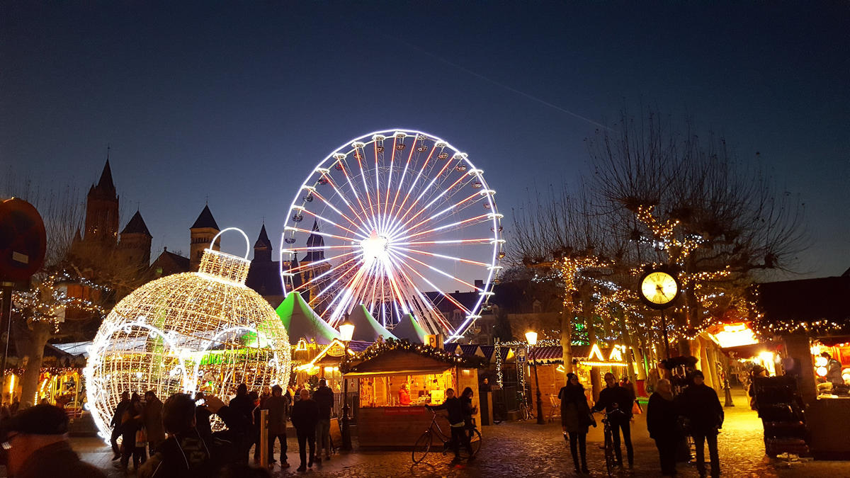 Christmas Market Maastricht Photo by ADITYA RAJ via Flickr Creative Commons