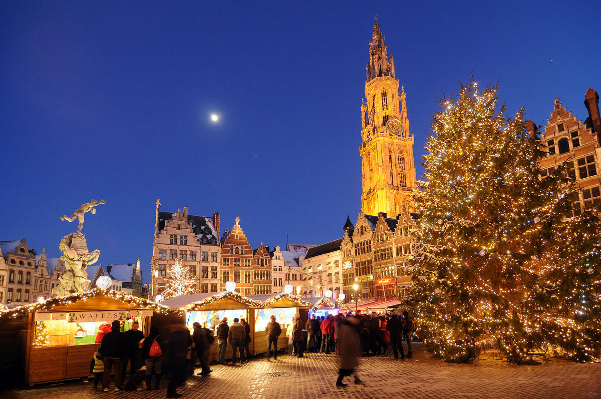 Christmas in Antwerp Photo by VISITFLANDERS via Flickr Creative Commons