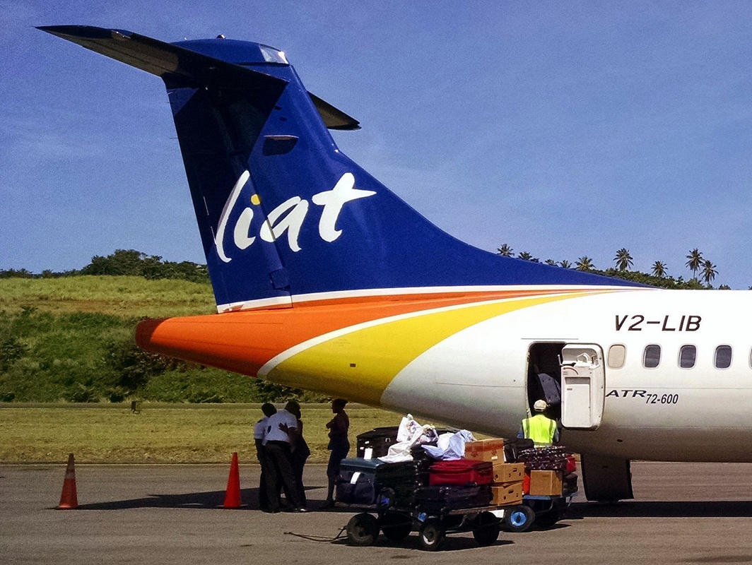 LIAT ATR at Dominica Photo by Stefan Krasowski via Flickr Creative Commons