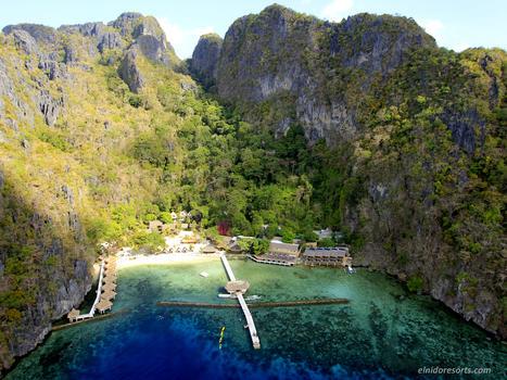 02. miniloc island   aerial view