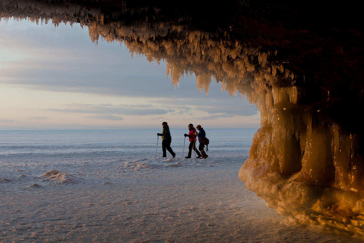 Sea Caves Photo by yadem.hayseed via Flickr Creative Commons