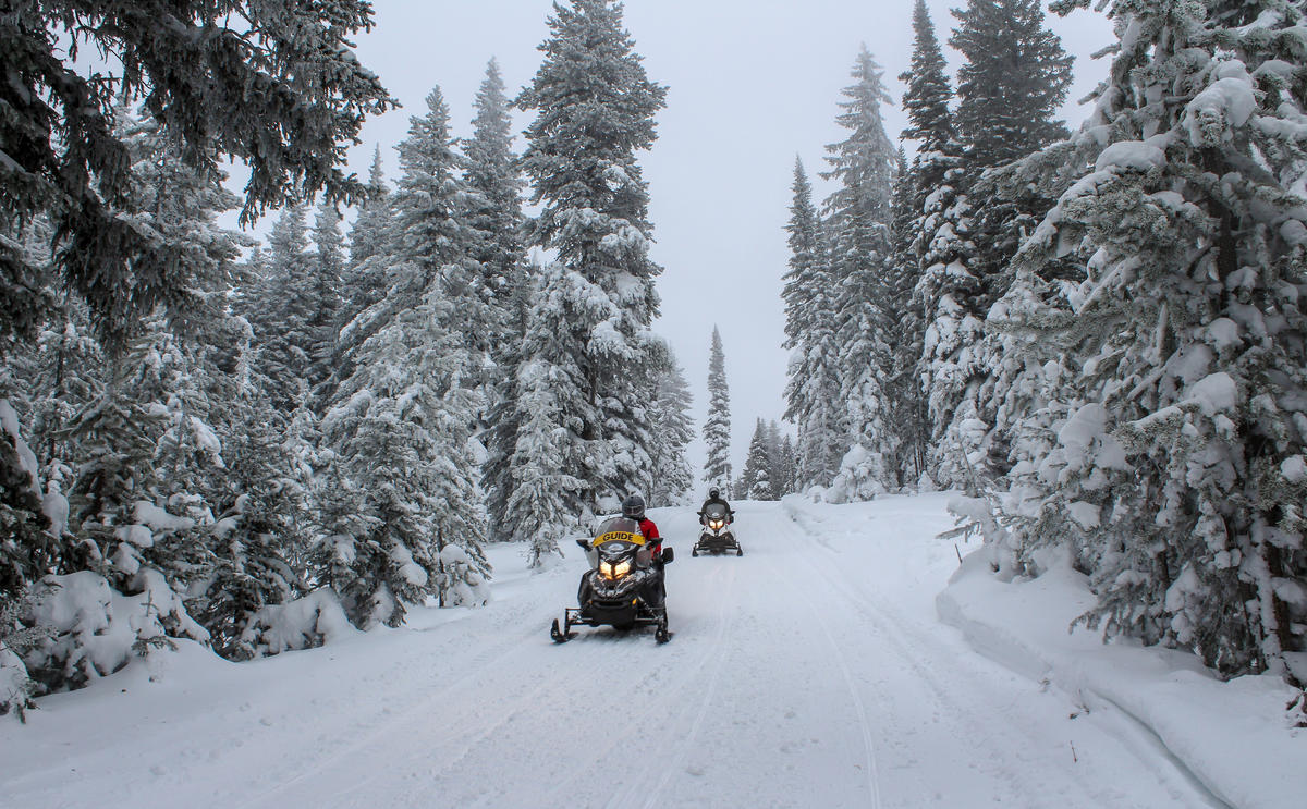 Meet West Yellowstone The Snowmobile Capital Of The Lower 48