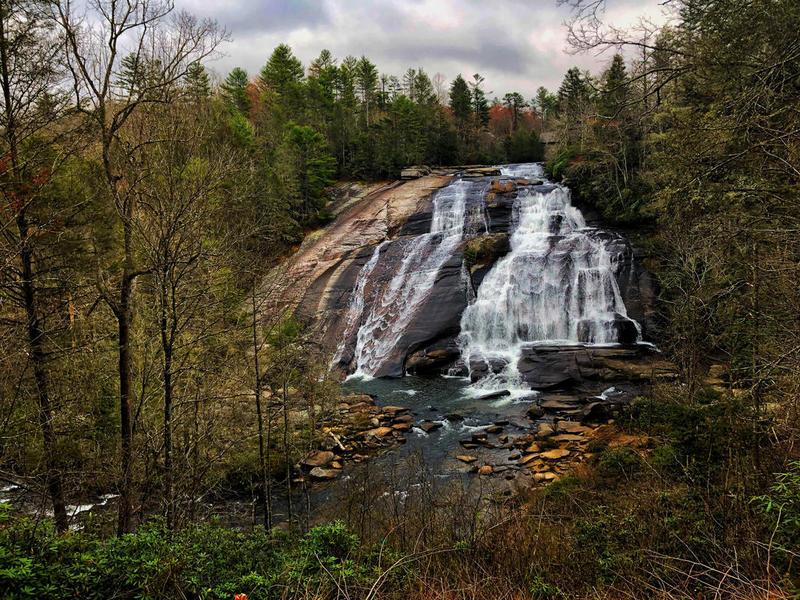 Brevard high falls