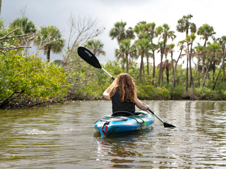 Kayaking wanderthemap