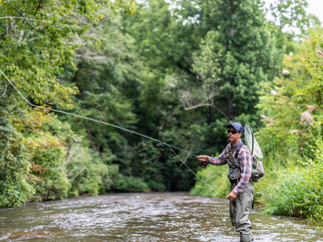 Sylva  fly fishing