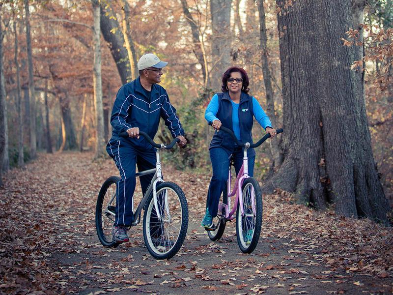 Canal trail bike program