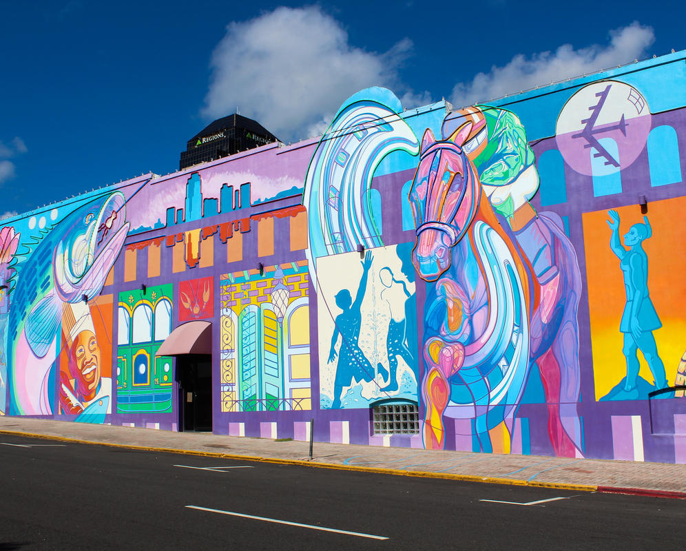 Shreveport Mural. Photo by Corinne Edmiston