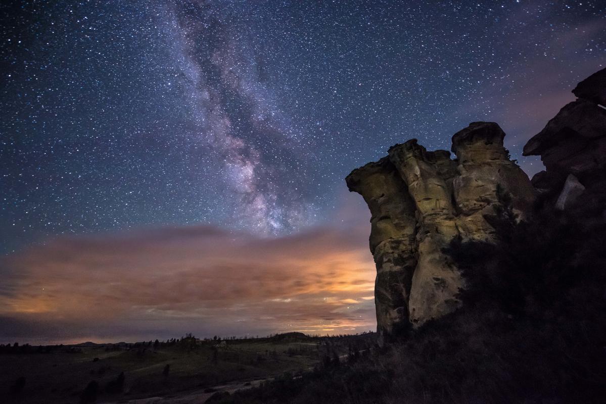 Photo credit: Rosebud County Night Sky, Alexis Bonogofsky