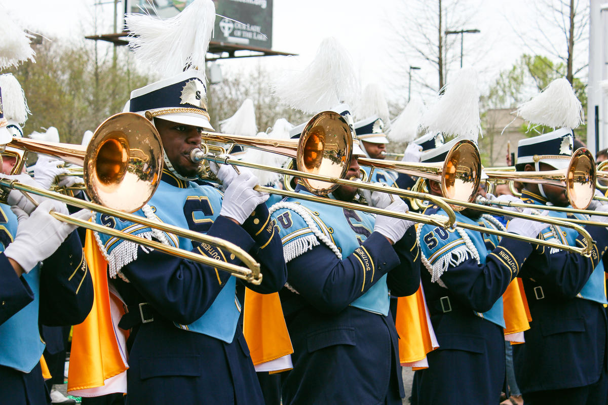 Southern University's Human Jukebox - Photo by Katelyn Krulek