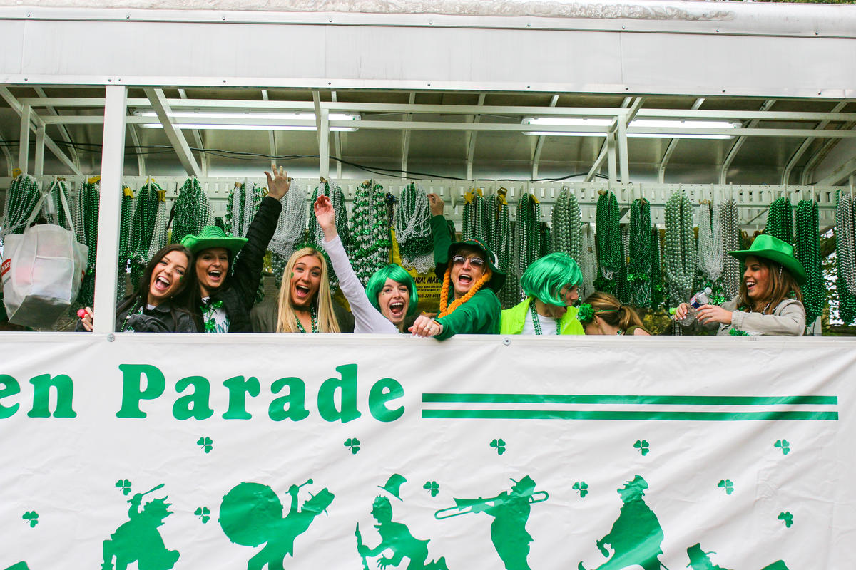 Wearin' of the Green Parade - Photo by Katelyn Krulek