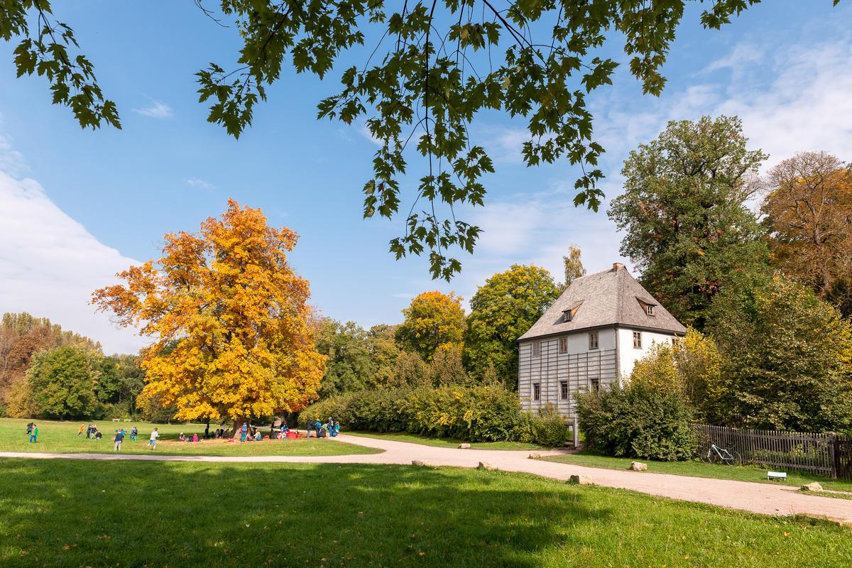 Goethe's Garden House courtesy of Thüringer Tourismus GmbH