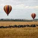 Kenya hot air ballon