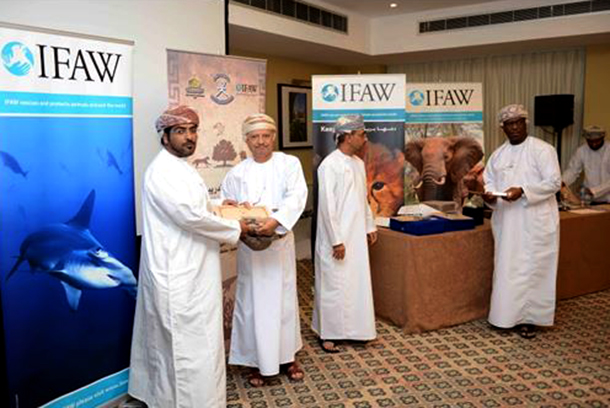 """Certificates were handed out at """"Prevention of illegal trade in wildlife"""" worksh"""