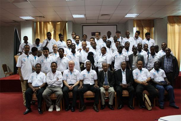Participants and Facilitators at the PWT training
