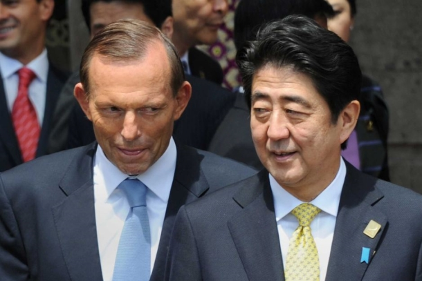 "Prime Minister Abe of Japan and Australian Prime Minister, Abbott met earlier this week, where Abbott avoided bringing up Japan's ""scientific whaling,"" an issue the Australian people care deeply about."