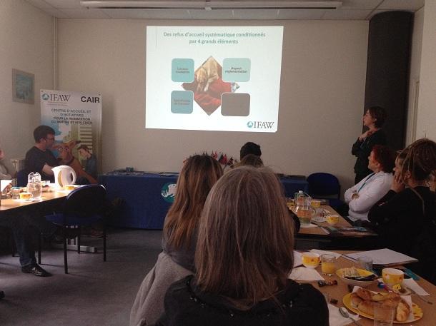 IFAW appuie l'accueil et l'hébergement des publics en situation d'exclusion acco