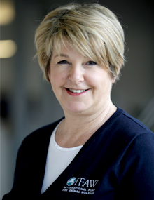 Sonja Van Tichelen, Vice President of International Operations