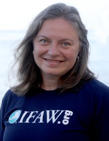 Shannon Walajtys, Leiterin IFAW Katastrophenhilfe