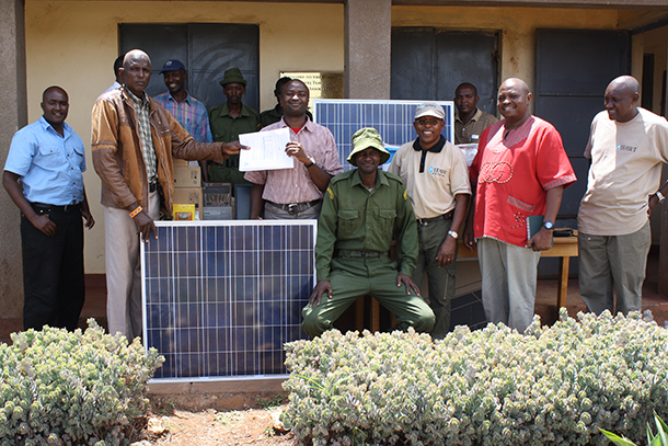 Equipping foot soldiers of wildlife conservation