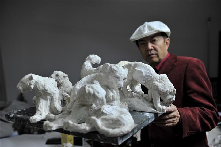 Chinesischer Künstler Yuan Xikun setzt sich für bedrohte Tiere ein
