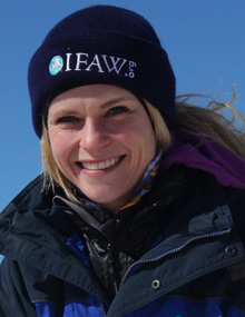 Sheryl Fink, Direktorin Wildtier-Kampagnen, IFAW Kanada
