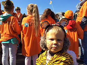 Tiger Day in Russia's Far East attracts more people than in pevious year.