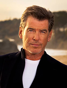 Pierce Brosnan, Honorary Board member, actor, film producer and environmentalist