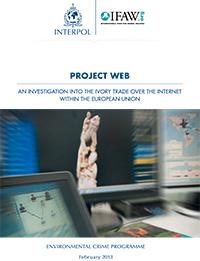 Blickpunkt CITES-Partner: INTERPOL-Projekt WEB greift gegen illegalen Online-Wildtierhandel durch