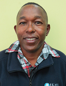 Evan Mkala, Field Project Officer - Amboseli National Park Project - Kenya