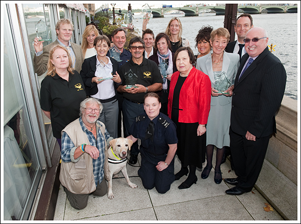 Exceptional animal award winners inspire at House of Lords