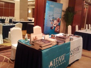 https://blog.ifaw.org - The IFAW table at the Asia for Animals conference