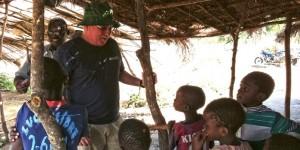 IFAW EVP Azzedine Downes in Malawi.