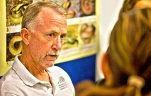 IFAW Emergency Relief manager Dick Green consults with teams in Queensland.