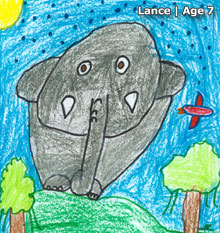US 2011 Art Contest Winner | Lance | Age 7